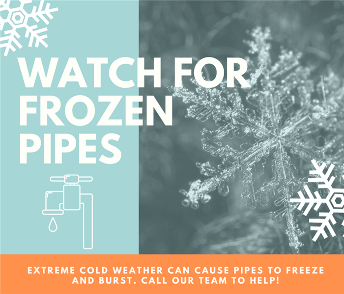 frozen pipes graphic